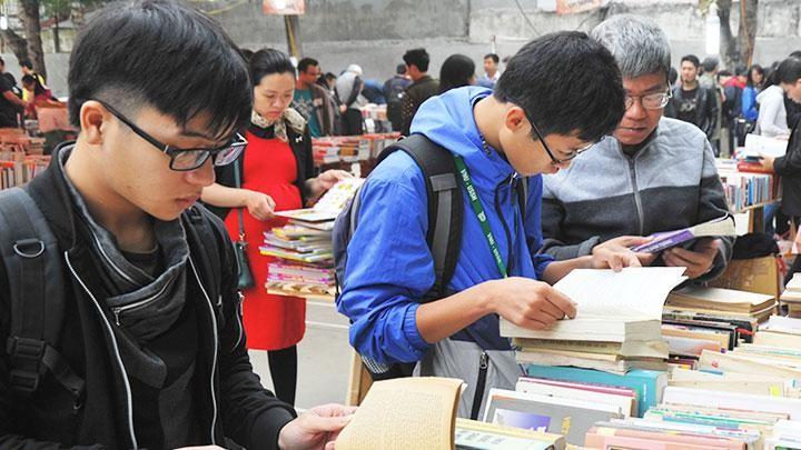 Cuộc thi hy vọng sẽ lan tỏa niềm đam mê đọc sách đến với giới trẻ. Ảnh: Lao động