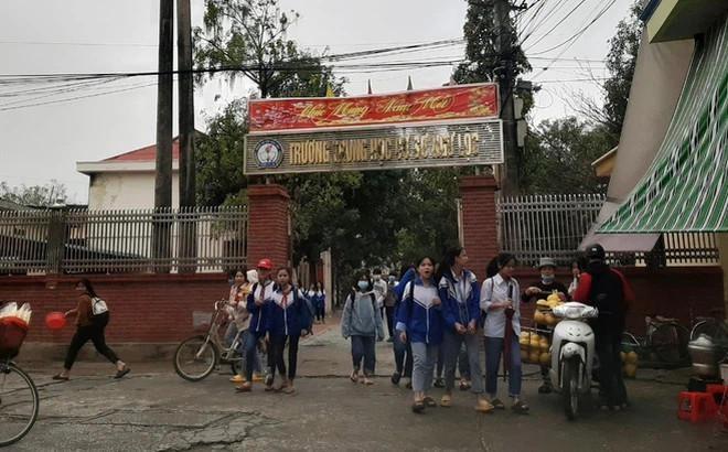 Trường THCS Ngư Lộc (huyện Hậu Lộc, tỉnh Thanh Hóa) - nơi cô Xuyến công tác. Ảnh: DN&TT