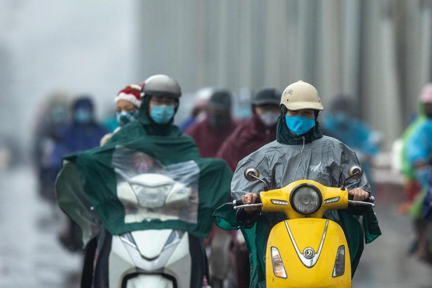 Không khí lạnh tiếp tục ảnh hưởng đến Trung Trung Bộ