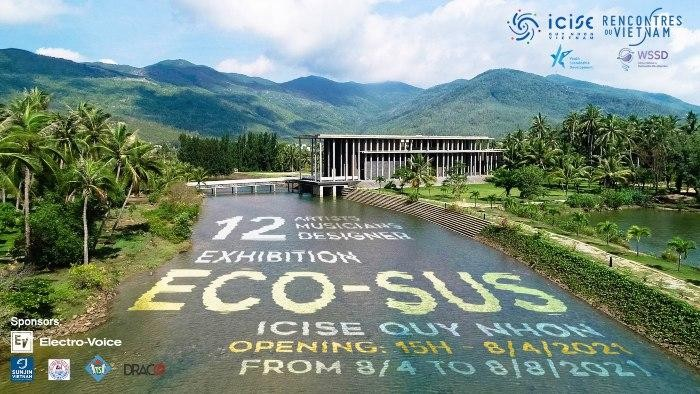 Triển lãm nghệ thuật ECO-SUS tại Quy Nhơn. Ảnh: hanoigrapevine.com