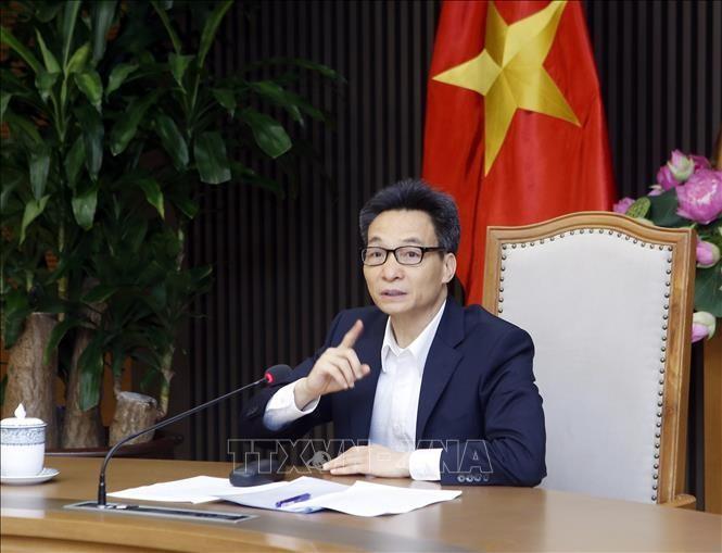 Phó Thủ tướng Chính phủ Vũ Đức Đam phát biểu. Ảnh: Phạm Kiên/TTXVN