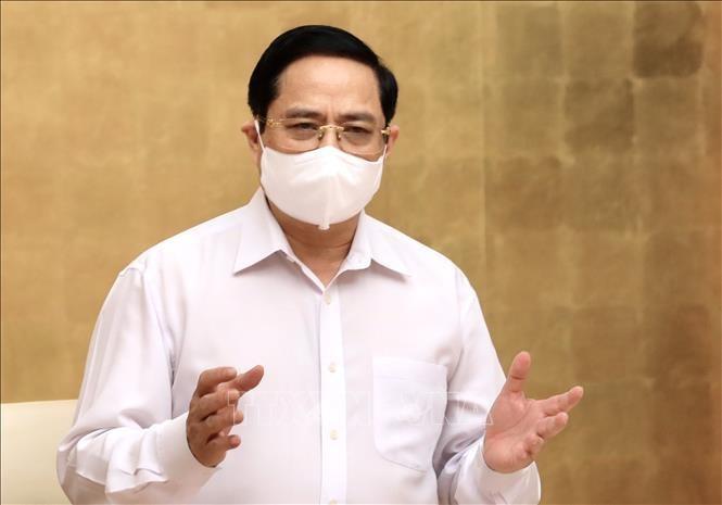 Thủ tướng Chính phủ Phạm Minh Chính. Ảnh: Lâm Khánh/TTXVN