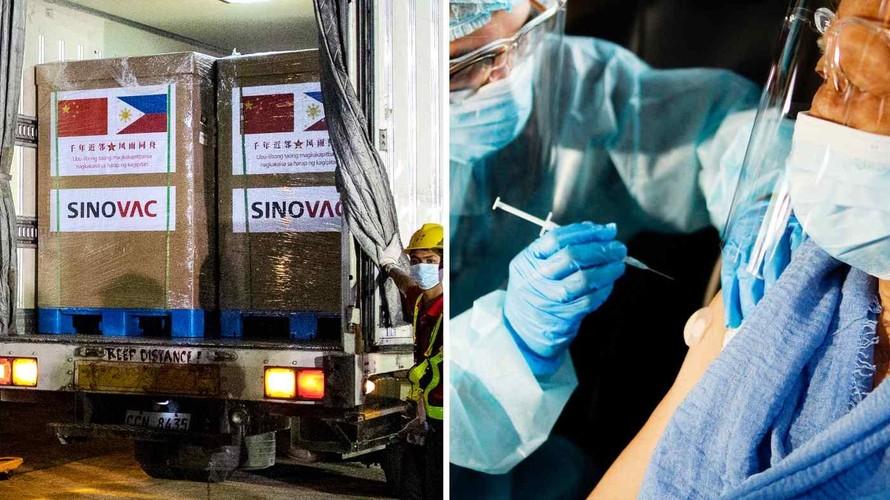 Philippines sẽ nghiên cứu trộn vaccine Sinovac cùng các loại vaccine khác. Ảnh minh họa: Reuters