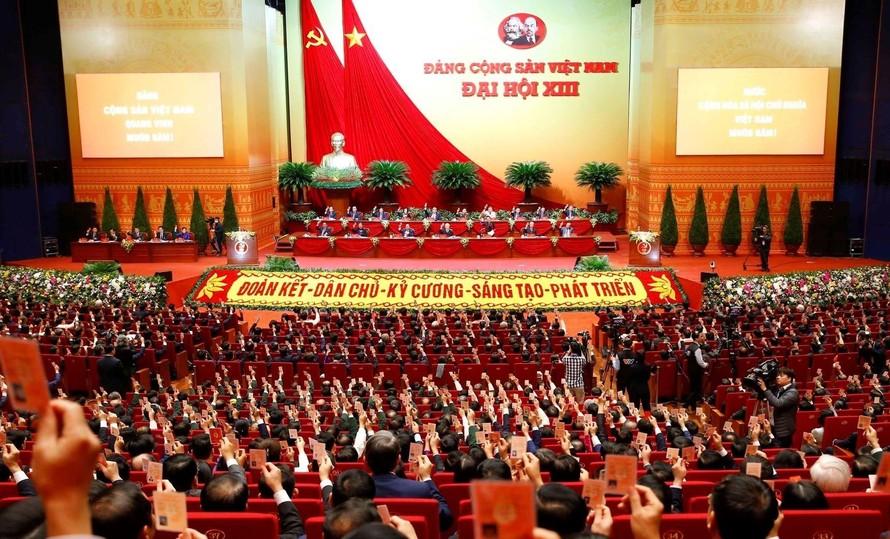 Đại hội XIII của Đảng là sự kiện chính trị trọng đại nhất của Đảng và của dân tộc ta trong năm 2021.
