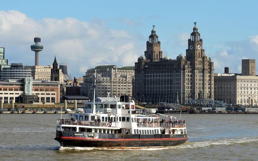 Thành phố cảng Liverpool bị đề xuất đưa khỏi Danh sách di sản thế giới. Ảnh: AFP