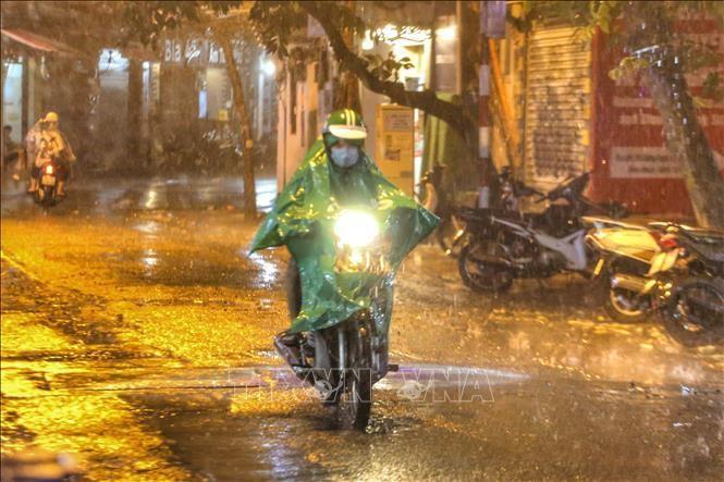 Từ ngày 5 - 13/7, nhiều khu vực có mưa và dông. Ảnh: Tuấn Đức/TTXVN