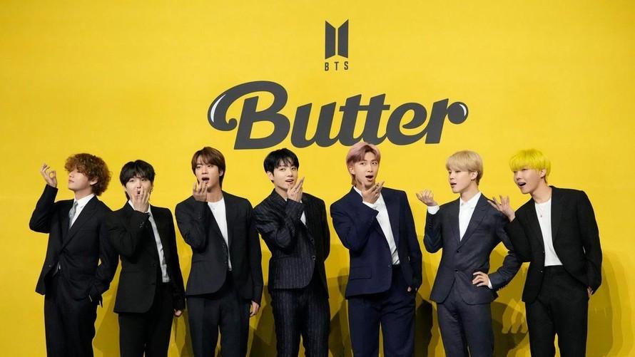 BTS tiếp tục lập lục với ca khúc 'Butter'