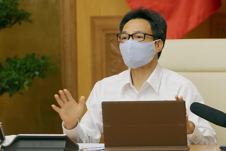 Kết luận của Phó Thủ tướng Vũ Đức Đam tại cuộc họp Ban Chỉ đạo Quốc gia phòng, chống dịch COVID-19
