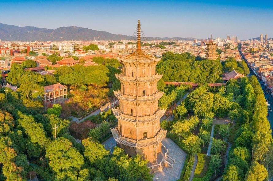 """Thành phố cảng Tuyền Châu từng được nhà thám hiểm người Italy Marco Polo ca ngợi là """"thành phố vĩ đại"""". Ảnh: Shutterstock"""