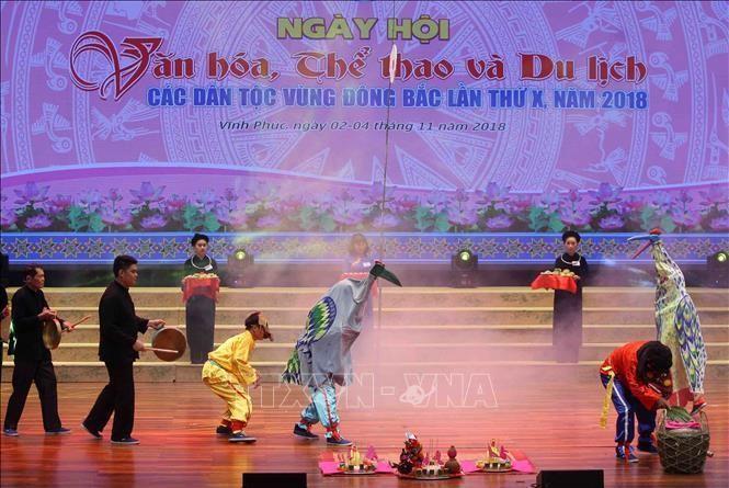 Ngày hội văn hóa, thể thao và du lịch các dân tộc vùng Đông Bắc lần thứ X. Ảnh tư liệu: Thanh Tùng/TTXVN