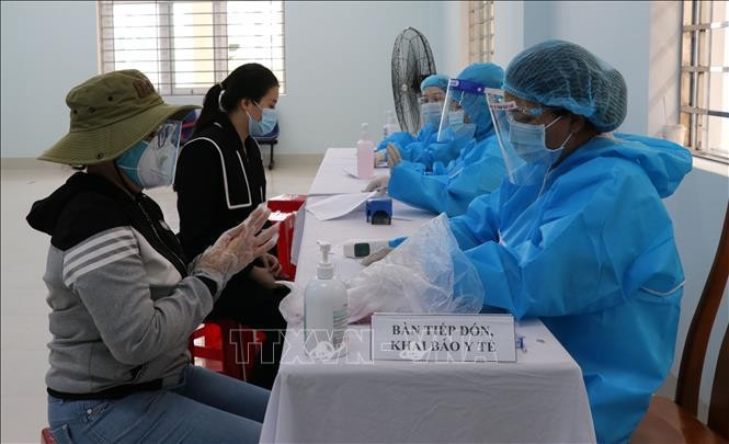 Bệnh viện đa khoa tỉnh Gia Lai là đơn vị duy nhất triển khai tiêm vaccine phòng COVID-19 trên địa bàn tỉnh. Ảnh: Hồng Điệp - TTXVN