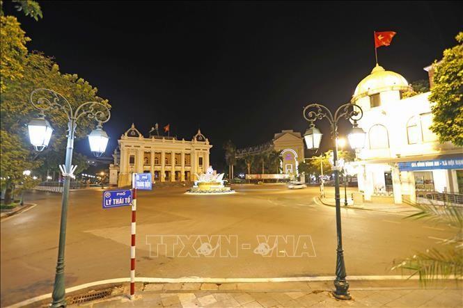 Khu vực quảng trường Cách mạng Tháng 8. Ảnh minh họa: Trần Việt/TTXVN