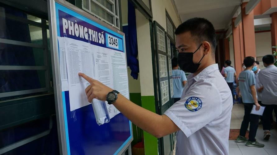 Nhiều trường đại học tại TP Hồ Chí Minh bổ sung các phương thức xét tuyển không sử dụng kết quả thi Tốt nghiệp Trung học phổ thông năm 2021. Ảnh tư liệu: Đan Phương/Báo Tin tức