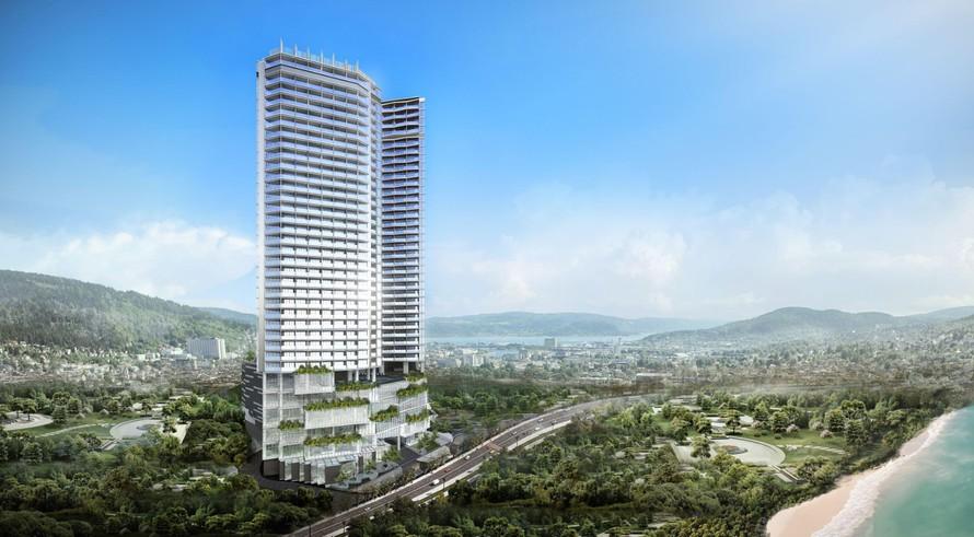 Khách sạn mới tọa lạc tại trung tâm khu phức hợp kỳ vọng thay đổi diện mạo thành phố Hạ Long