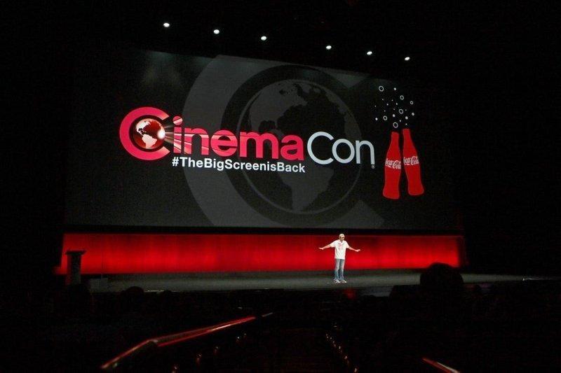 CinemaCon được tổ chức bởi Hiệp hội Rạp chiếu phim Mỹ đã khởi động tại thành phố Las Vegas, Mỹ. Ảnh: CinemaCon