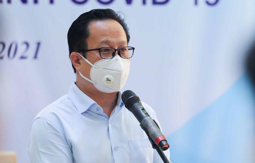 Giám đốc Sở GD&ĐT Hà Nội Trần Thế Cương. Ảnh: Thanh Tùng/TTXVN