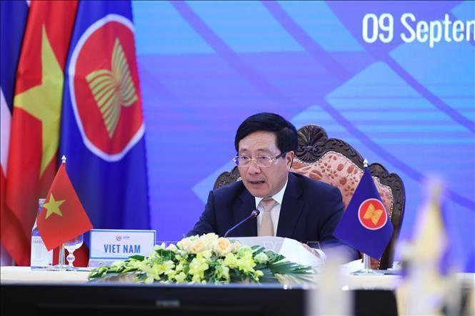 Phó Thủ tướng Chính phủ Phạm Bình Minh. Ảnh: Lâm Khánh/TTXVN