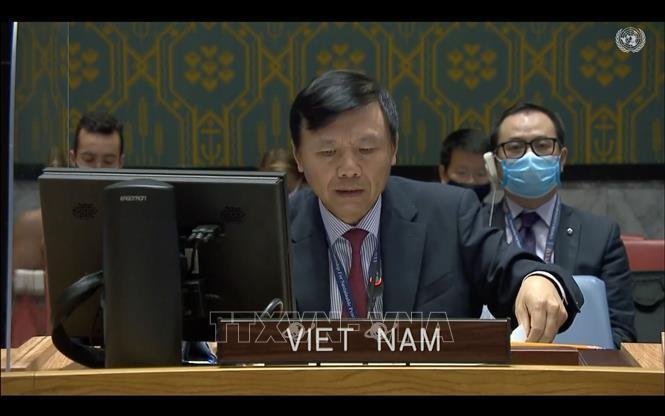 Đại sứ Đặng Đình Quý, Trưởng Phái đoàn Việt Nam tại LHQ. Ảnh: TTXVN
