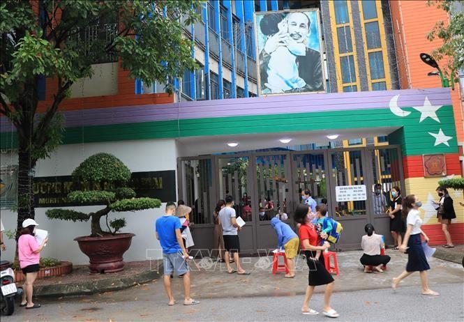 Trường Mầm non Sao Mai, phường Võ Cường, thành phố Bắc Ninh vừa ghi nhận chùm 6 ca bệnh.