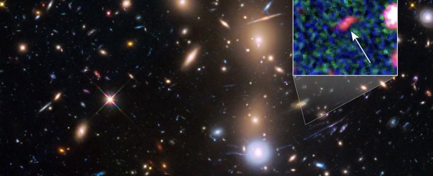 Phát hiện thiên hà mờ nhạt nhất hình thành sau vụ nổ Big Bang