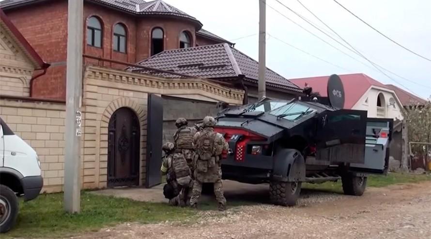 Video: Nga triển khai xe 'người dơi' chống khủng bố ở Dagestan